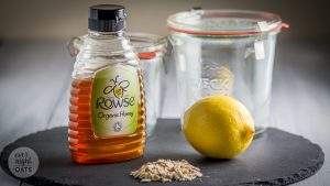 honey and lemon overnight oats