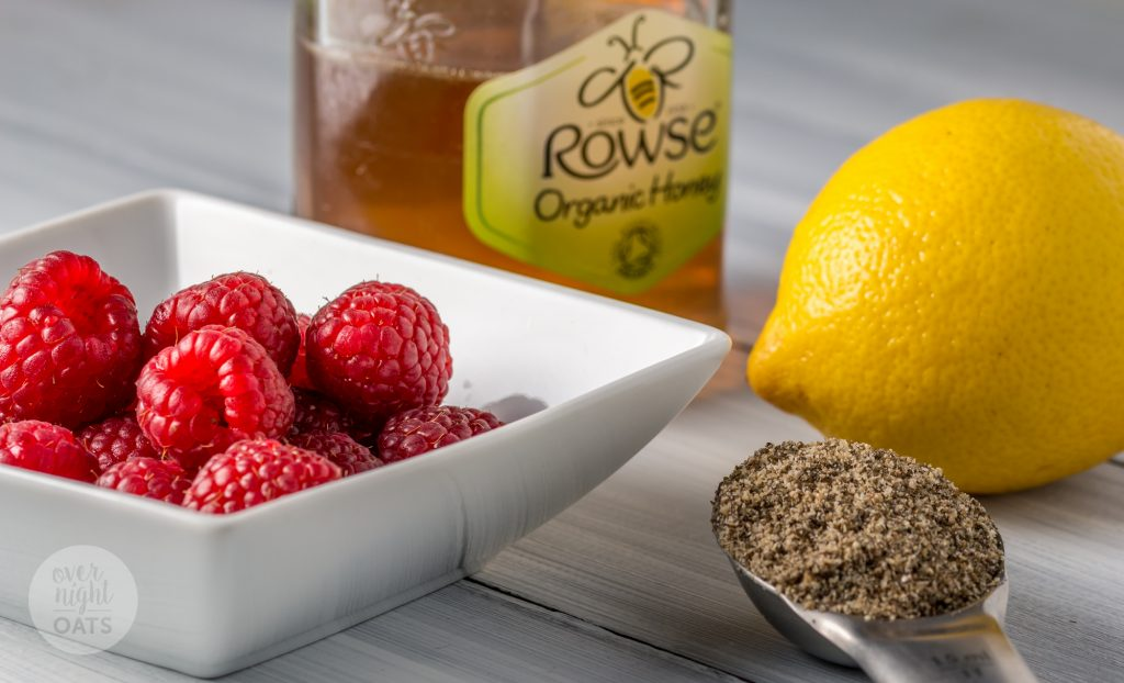 Raspberry and Lemon Overnight Oats